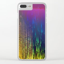 Rain over The Golden Chamber Clear iPhone Case