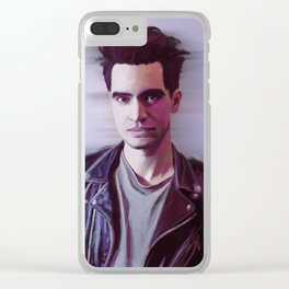 Brendon Urie (Panic! At The Disco) Clear iPhone Case