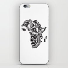 African Tribal Pattern No. 63 iPhone Skin