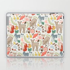 Flora and Fauna  deer in multicolor Laptop & iPad Skin