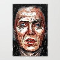 christopher walken Canvas Prints featuring Walken by Dnzsea