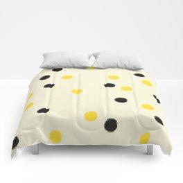Bee Polka Comforters