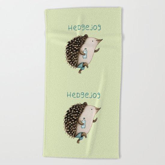 Hedgejog Beach Towel