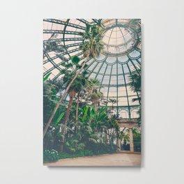 Royal Greenhouses III Metal Print