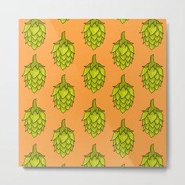 Hop Pattern Metal Print