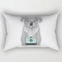 This Koala is a Tourist / Este Koala es un Turista Rectangular Pillow