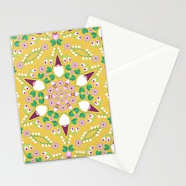 Gnomes in the Garden Stationery Cards