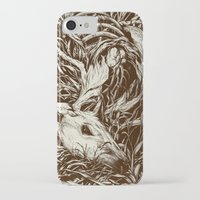 leaves iPhone & iPod Cases featuring doe-eyed by Teagan White