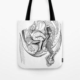 Anatomy Of Sex Tote Bag