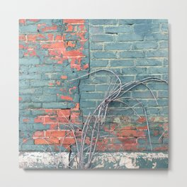 Bricks In Competition Metal Print