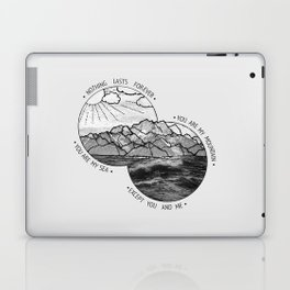 mountains-biffy clyro Laptop & iPad Skin