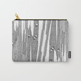 Grey pearls Carry-All Pouch