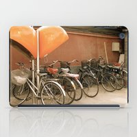 bikes iPad Cases featuring Bikes, bikes, bikes by Anything et Everything by Nina L.
