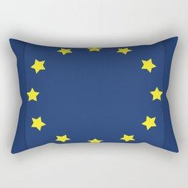 The European   Union Rectangular Pillow
