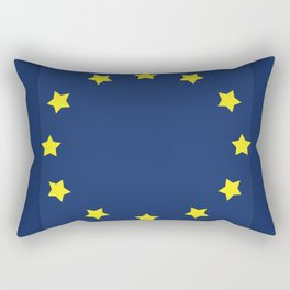 The European   Union Rectangular Pillow