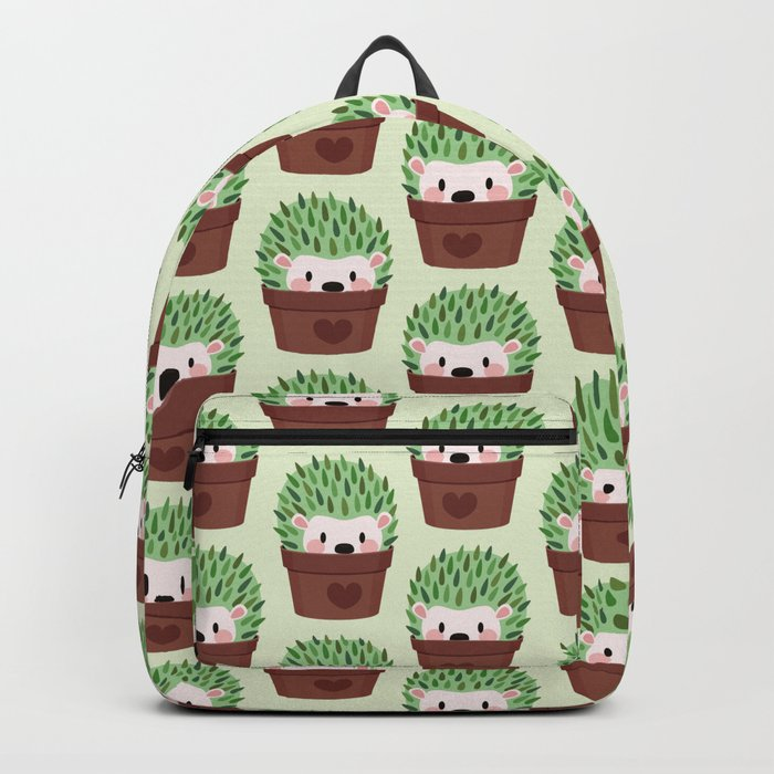 Hedgehogs disguised as cactuses Backpack