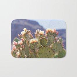 Prickly Pear Cactus Blooms, II Bath Mat