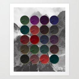 Crop Circles 1 Art Print