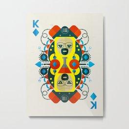 Heisenberg fan art Metal Print