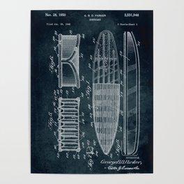 1948 - Surfboard Poster