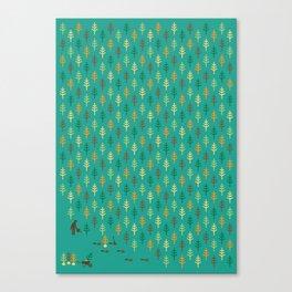 Reforestation Canvas Print