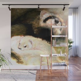 Ferret Mommy Wall Mural