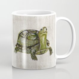 Little Turtle, Forest Animals, Woodland Decor, Woodland Art, Coffee Mug