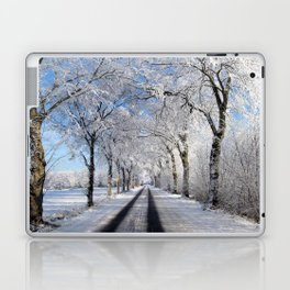 Winter-avenue Laptop & iPad Skin