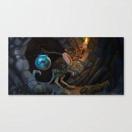 Timestone Concept Canvas Print