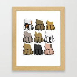 Paws Framed Art Print