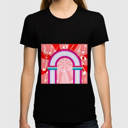 Musical Notes Archway T-shirt