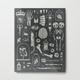 Oddities: X-ray Metal Print