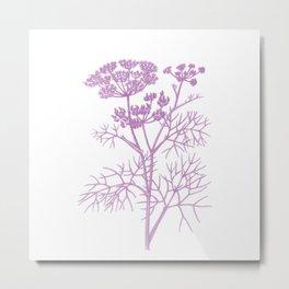 pink flower 2 . artwork Metal Print