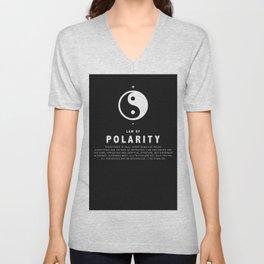 Law of Polarity Unisex V-Neck