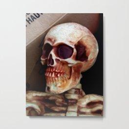 Skully  Metal Print