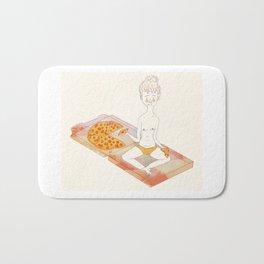 Pizza Pizza Pizza Bath Mat