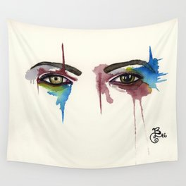 David Bowie Eyes Wall Tapestry