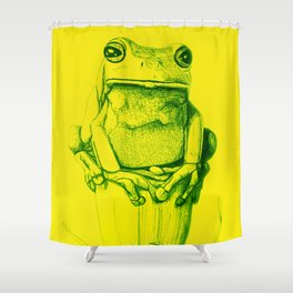 Frogger Shower Curtain