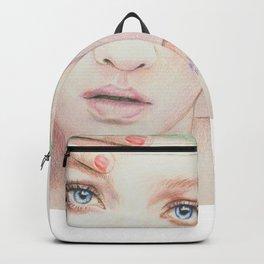 cap girl... Backpack