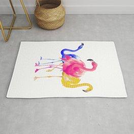 Catwalk Flamingos Rug