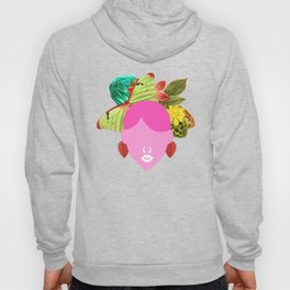 Girly Flower and Butterfly Hoody