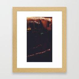 Bookeh 3 Framed Art Print