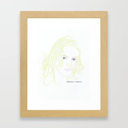 Stephanie Gilmore Framed Art Print