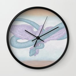 """""""... be wise as serpents and innocent as doves.""""  Matthew 10:16 Wall Clock"""