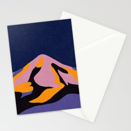Over The Sunset Mountains II Stationery Cards