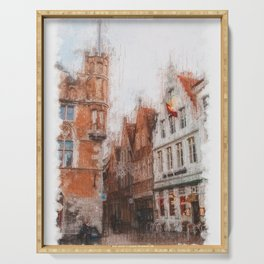 Bruges Serving Tray