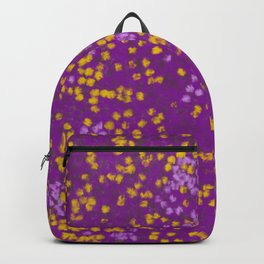Field of Purple and Yellow Backpack