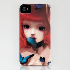 Chew my blue... iPhone (4, 4s) Slim Case