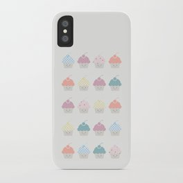 Cupcakes pattern iPhone Case