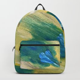Brooding Peacock Backpack